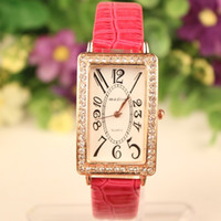 high end watches - Women Watch New Fashion High End Full Rhinestone Quartz Watch PU Leather Casual Watch Women Dress Watch Wristwatch