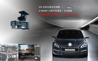 Cheap Wholesale-Brand new!2011 hot sale Global smallest car black box video camera with gps travel charger