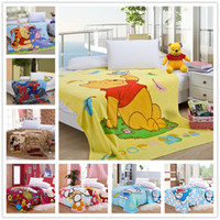 Cheap Wholesale-Brand Winnie the Pooh Coral Fleece Blanket Warm on the Bed Blankets, 150*200cm High Quality, Free Shipping