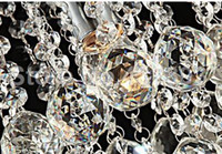 Wholesale Modern K9 Lustre Crystal Chandelier LED Crystal Ceiling Lamp Stainless Lighting Fixture Home Decoration Samll luminare