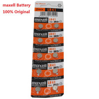 Wholesale Maxell AG3 L736 LR736 V for Watch coin button Batteries Original Made in Japan