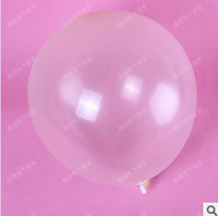 Wholesale bag inch big clear transparent balloons wedding birthday party decoration balloons