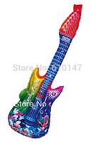 aluminium length - Hot sales wholesales Guitar Cheering stick thunder sticks cm length Party balloon Minnie Guitar