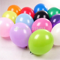balloon thickness - g inch thickness solid helium balloon wedding decorations ballon mix color
