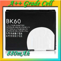 Wholesale BK60 Cell Phone Batteries For Motorola A1600 C257 C261 E8 EM30 L6 L7 L8 L9 L71 L72 MS900 U6c