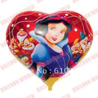 animal print balloons - NEW ARRIVAL inch heart shape princess printing foil balloon helium balloon mylar balloon