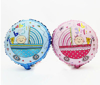 baby boy strollers - cute baby girl amp boy in stroller balloon for new born celebration baby shower balloons