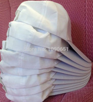 Wholesale Sublimation Heat Transfer Blank White Cap Hat for Photo Printing