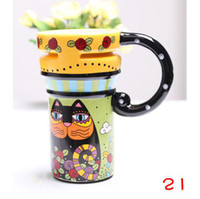 Wholesale Big Mark Cup Ceramic Pattern Cup FFF