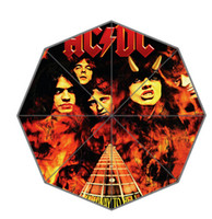 acdc gifts - Art Design Australia Rock Band ACDC Fold Umbrellas Suprised Gift For Birthday Friend