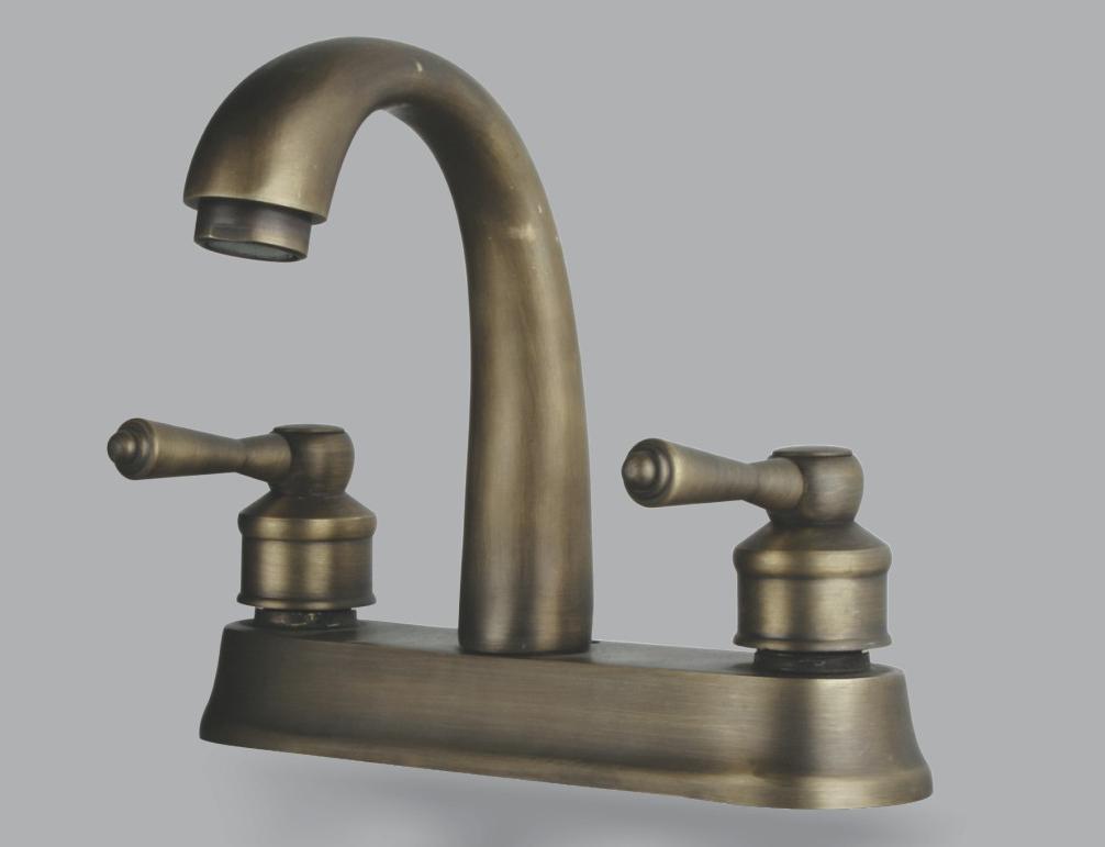 Repair leaky faucet in bathtub