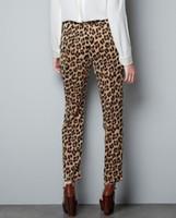 basic boots - women Leopard harem pants slim look loose trousers basic casual leisure pants Roupa Female plus size S XXL KZ77