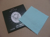Wholesale Silver polishing cloth Material flannelette Silver cleaning x8 cm per