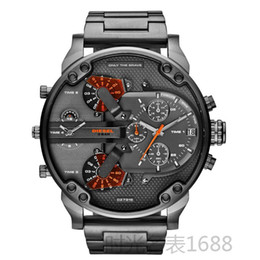 Wholesale Famous Watch Relogio Masculino DZ7315 Watch Men Steel Quartz Watch Digital Relojes Atmospheric Business DZ7314 Sports Watch
