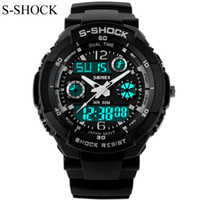 automatic watch women s - New G Style Quartz Analog Digital Watch Men Women Dual Time Sports Watches Luxury S Shock Military Army m Waterproof Reloj
