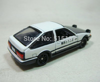 Wholesale Original New Tomica Tomy dream Initial D AE86 Trueno diecast toy cars pixar for kids children