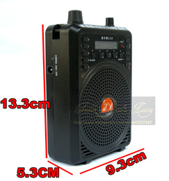 Wholesale W Hunting Mp3 Bird Caller Sound Audio Player Hunting Decoy Speaker Hunting Bird Decoy Amplifier Loudspeaker With Bird Songs