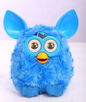 Wholesale Electronic LCD Eyes Liquid Crystal Phoebe Firbi Elves Recording Plush Electronic Toys Talking Repeat toys Compatible with Furby