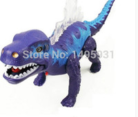 battery operated dinosaur toys - Dinosaur Toys Fun children s gifts Electric dinosaur Christmas Flash Lifelike sound Safety and environmental protection