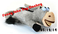 baby roll like - New Baby Toy Electronic Electric Pet Donkey Intelligent Voice Control Ha Ha Laugh And Roll Wallow Like Baby Funny Joke Toy