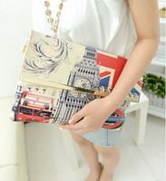 acrylic magazine - magazine pattern women envelope bag uk flag clutch bags fashion evening bags Eiffel Tower clutches Shoulder Bags xp102