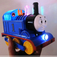 battery operated toy train - HOT popular children s toys Tomas train electric train baby choochoo toy easy comedy the mini train gift for