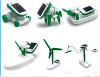 battery car fan - Solar Power in Toy Kit DIY Educational Robot Car Boat Dog Fan Plane Puppy toys