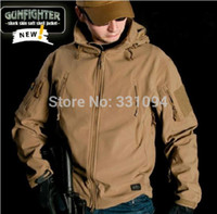 Wholesale REAL TAD Jacket Lurker Shark Skin Soft Shell TAD V4 Outdoor Military Tactical Jacket Waterproof Windproof Sports Army Clothing