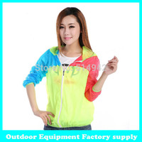 Wholesale Dropshipping anti uv outdoor clothing long sleeve sun protection beach thin quick dry transparent jackets outerwear female