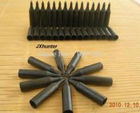 al por mayor flechas de bambú-Al por mayor-Libre de tiro con arco del envío broadheads cabeza caza flecha de bambú flecha objetivo 20pieces punto de campo punto de 5,4 g / lot
