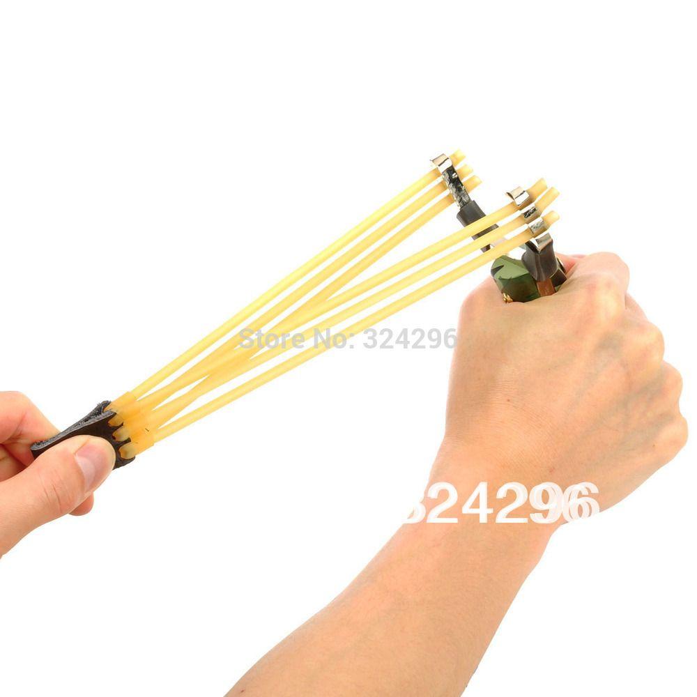 Wholesale-G-57 6-String Rubber Bands for Slingshot - Multi-Color(Randomly shipped)