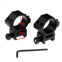 Wholesale set Hunting Accessories Rifle Scope Mounts mm Rings for Weaver mm Rail Outdoor Camping Rolling Weaver Rail Mount