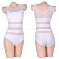 Wholesale New Arrival Ladies Sexy One Piece Swimsuit Bandage Cut Out Open Monokini Women Swimwear Bathing Suit Black White