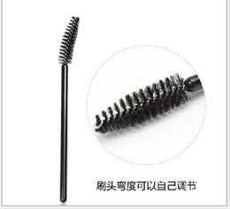 Wholesale Adjustable Brush Eyebrow Mascara Brush replacement special screw black eyebrow brush brush Saomei Premium Edition