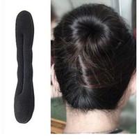 Wholesale Fashion DIY hair styling sponge ball head bud head hair Korean hair accessories
