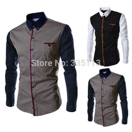 Discount Button Down Men Shirts Designs | 2017 Button Down Men ...