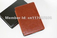 amazon leather jacket - HQ PU Leather and soft microfiber Case pouch cover jacket for kindle kindle no touch version by