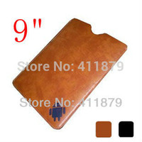 Cheap Wholesale-Nook HD 9 Case Sleeve Bag 9 Inch Leather Case for Android Tablet PC