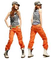 camo clothing - Women s Clothing Fashion Women Baggy Camo Cargo Pants Girls Harem Hip Hop Dance Sweat Pants Slim Straight Casual Trousers