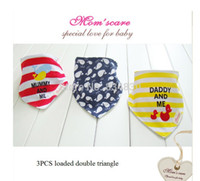 bandages baby sling - Baby sling bandage cotton double fitted mouth DUODUO three new Snap Bibs