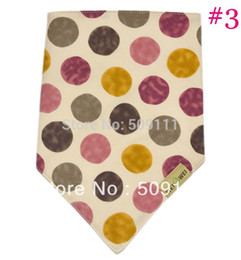 Wholesale-Baby Bandana Dribble Drool Bib Neck Scarf Bibs Absorbent baby accessory Gift for baby, infant and toddler bib 10pcs KK009