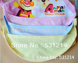 Wholesale-3pcs lot Baby waterproof bib cotton baby bibs character design baby pinafore 0-3years old kids