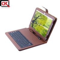 Cheap Wholesale-Original Standard 10.1 inch Keyboard Leather Case for PiPo M9 Pro  PiPo P9 3G Tablet PC