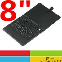 bag for ipad and keyboard - inch Tablet Mini Micro USB Keyboard Leather Case English or English and Russian for iPad mini
