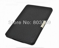 amazon books sell - Hot selling design magnets clasp PU Leather Book Case Cover For Amazon Kindle Paperwhite Case retail and pc