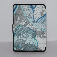 amazon map - Retro Map Thin PU Leather Case Cover For Amazon Kindle Paperwhite