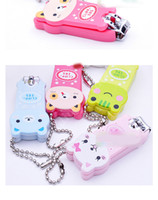 animal nail trimmer - Creative cute cartoon panda nail Trimmer nail scissors nail clippers factory outlets animal cute nail finger scissors