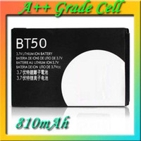 Wholesale BT50 Cell Phone Battery for Motorola A810 A1200 C168 E2 E9 E1000 K3 Q8 Q9 Q11 ZN300 W510 W530 W7