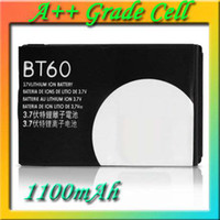 Li-ion For Motorola  BT60 Cell Phone Battery for Motorola A1200 A3000 E2 E770 E1070 Q8 Q9 Q11 V360 W355 W375 W388 W510