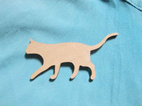 african wooden animals - wooden animal cat brooches Fashion Jewelry animal brooch